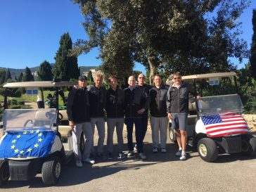 Mallorca-Ryder-Cup-Teams Mallorca, Golf, Trophy
